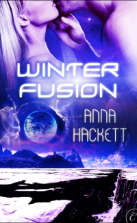 Anna Hackett book cover Winter Fusion